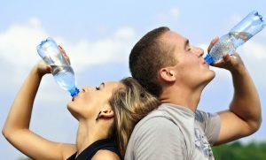 boire de l'eau
